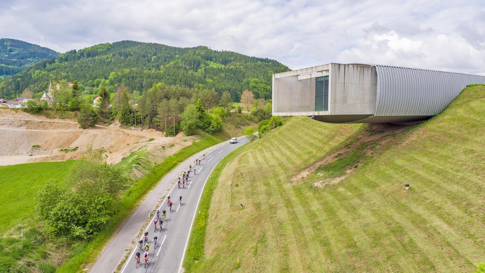 Rennradfahren am Klopeiner See