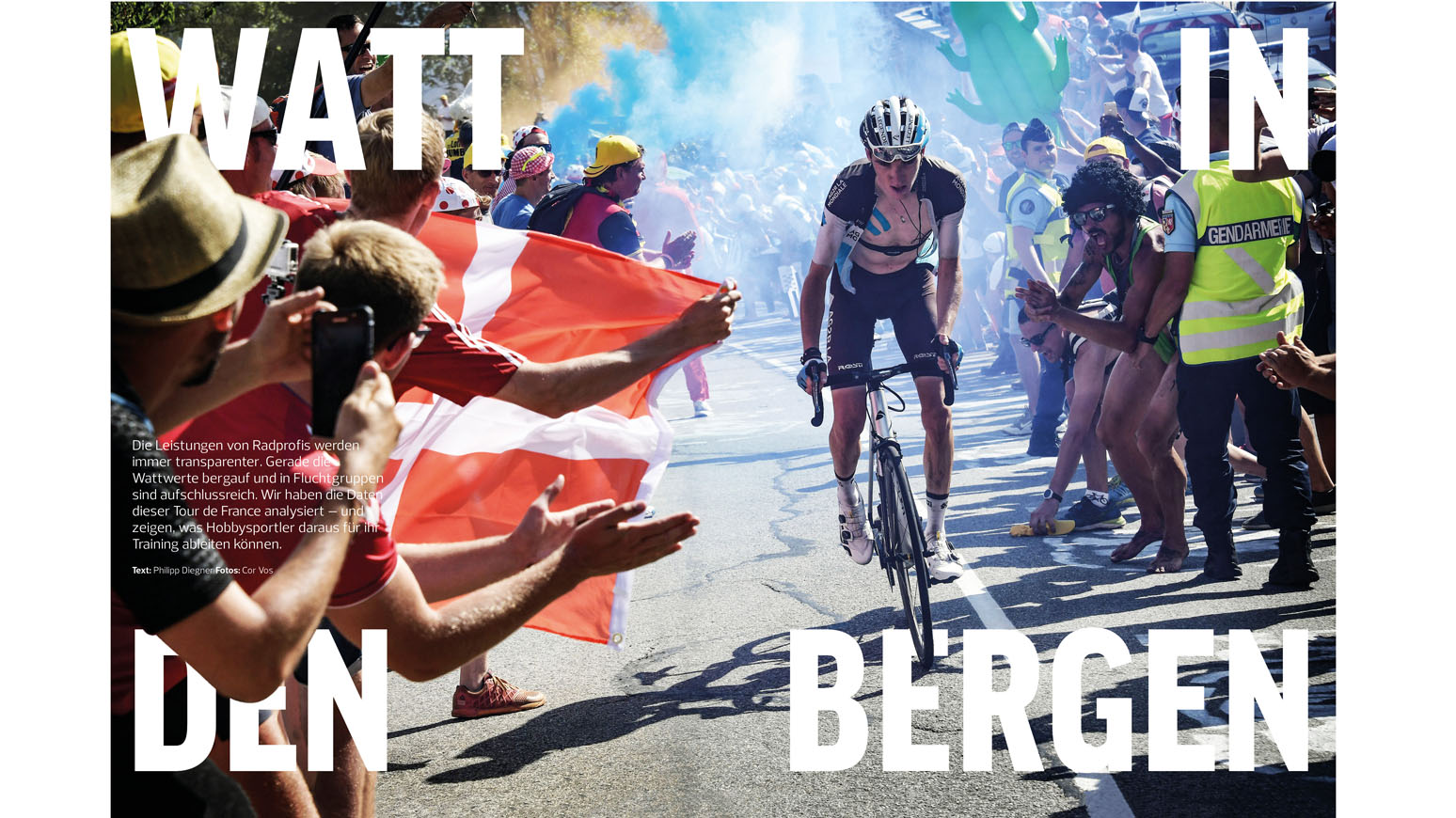 Training für die Berge. Was macht einen starken Fahrer aus? Die Watt-Werte der Tour de France in der Analyse