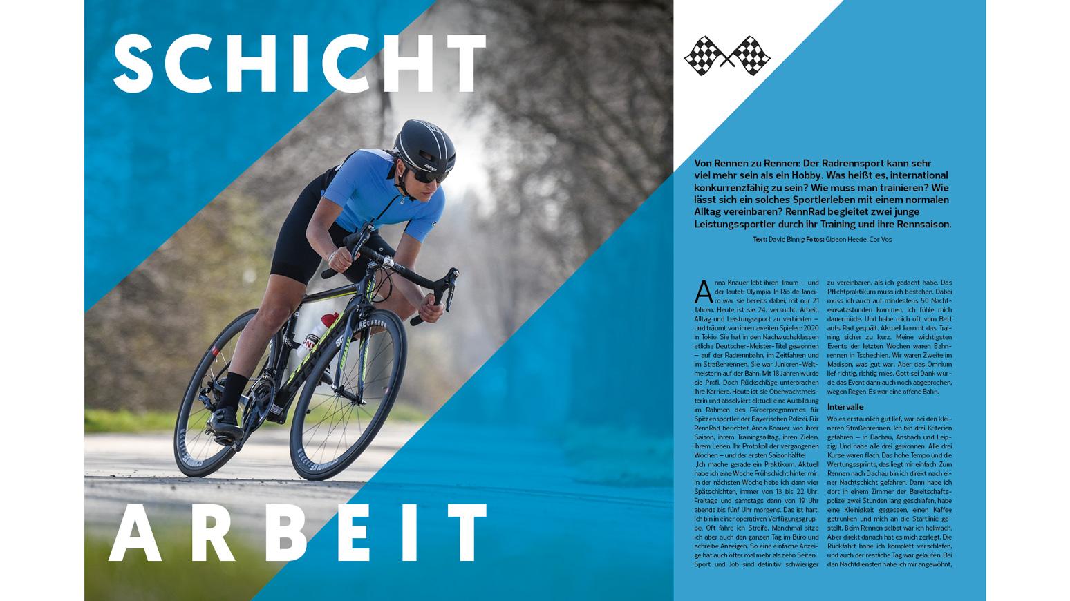 Spitzensport-Beruf-Alltag-Rennrad