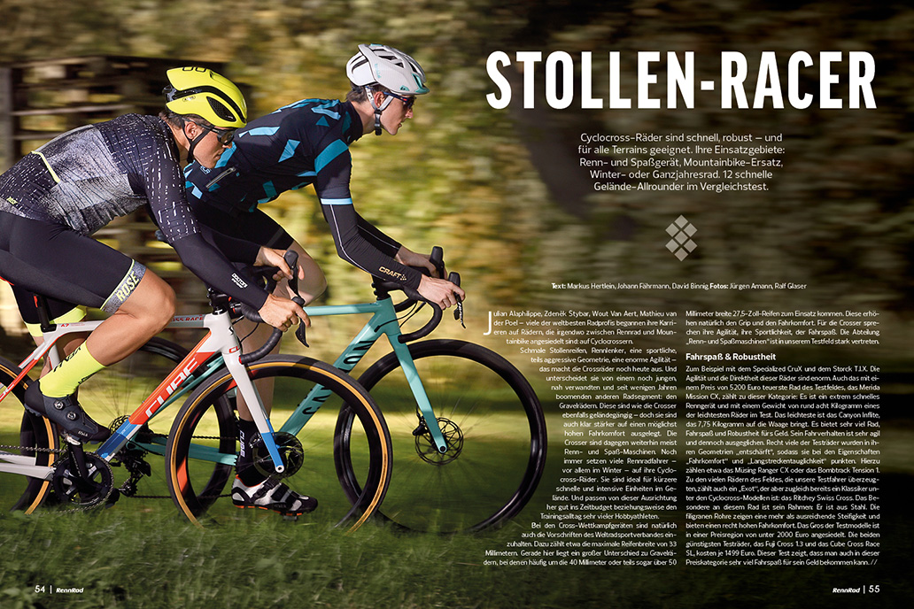 Cyclocross, Crossräder, RennRad 11-12/2019