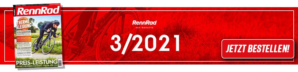RennRad 3/2021, Banner