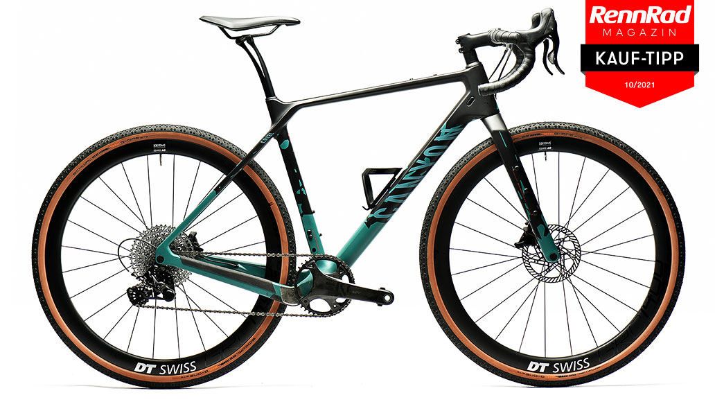 Canyon Grizl CF SLX 1BY, Gravelbikes, Test