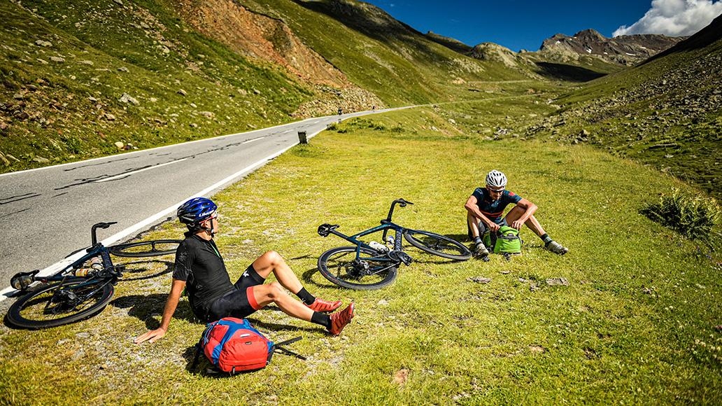 Pause, Alpen, Tour