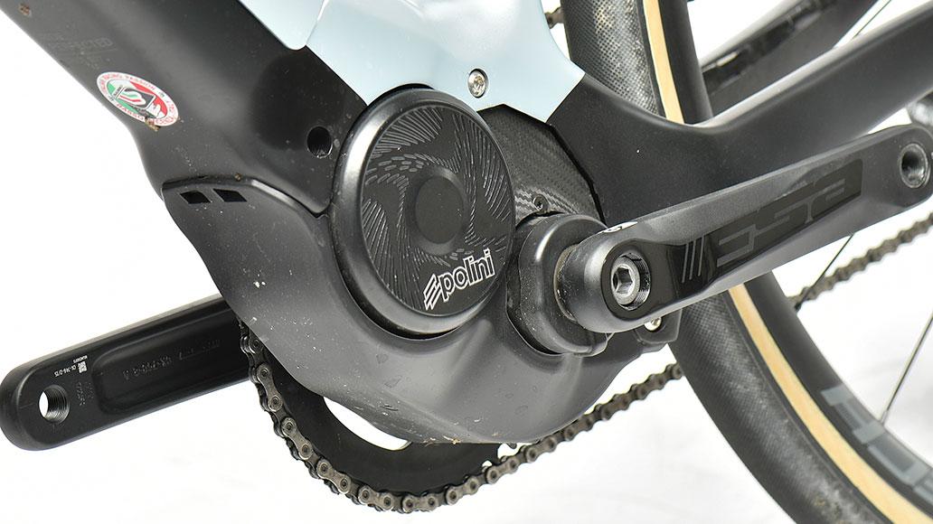 Polini E-P3, E-Motoren, Test