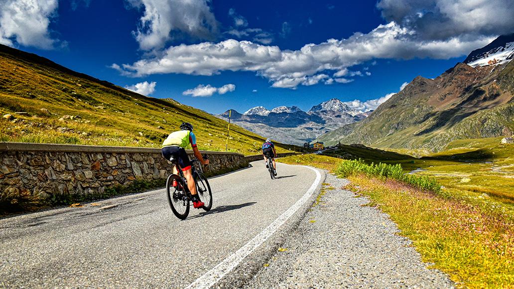 Gavia, Alpen, Reportage